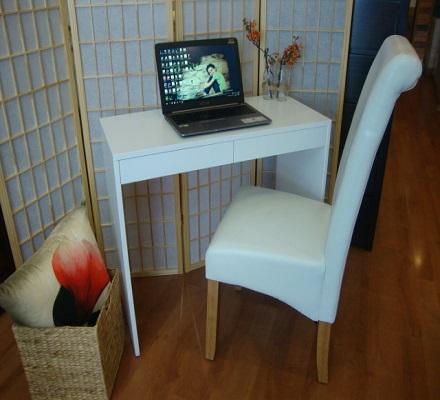Bondi Desk Painted White