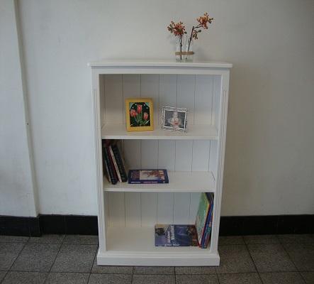 Federation Small Bookcase White