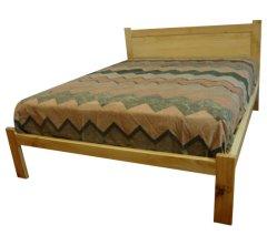 Plain Panel Bed Base - Double