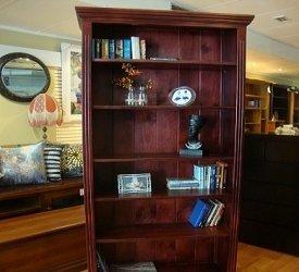 Federation Bookcase Stained Mahogony