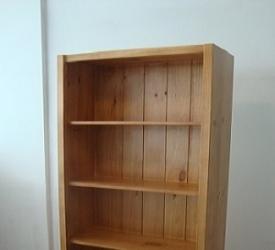 Modern Pine Bookcase 1800 x 900